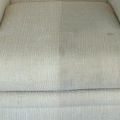 Upholstery Cleaning - American Carpets before and after photo